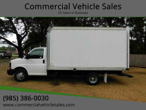 2016 Chevrolet Express Cutaway for sale at Commercial Vehicle Sales in Ponchatoula LA