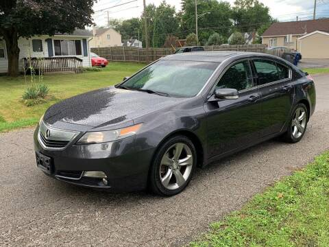 2012 Acura TL for sale at Tiger Auto Sales in Columbus OH