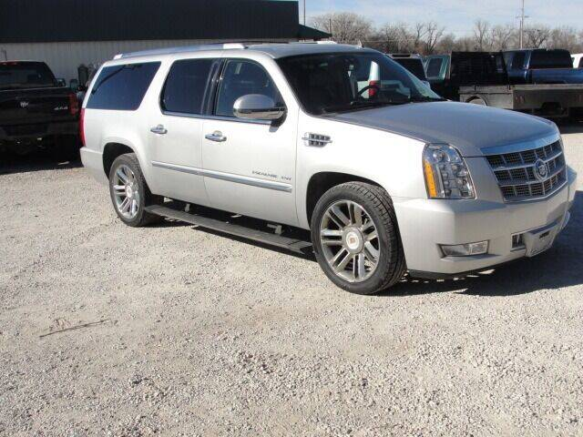 2013 Cadillac Escalade ESV for sale at Frieling Auto Sales in Manhattan KS