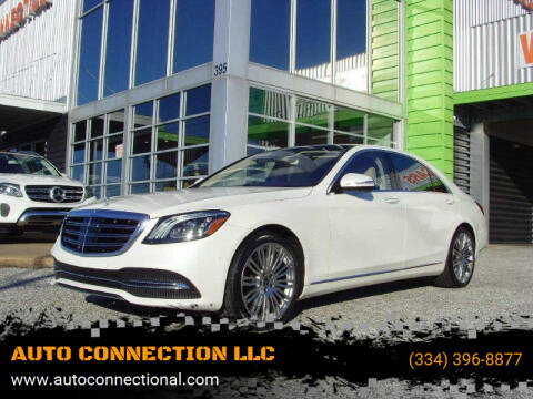 2019 Mercedes-Benz S-Class for sale at AUTO CONNECTION LLC in Montgomery AL