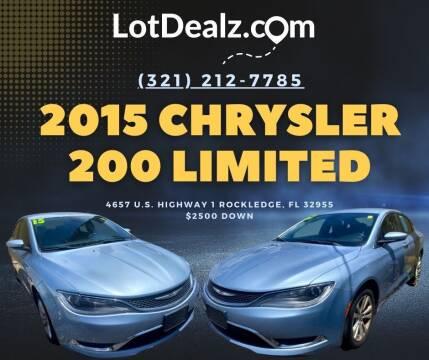 2015 Chrysler 200 for sale at ROCKLEDGE in Rockledge FL