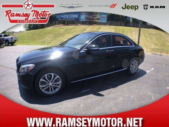 2015 Mercedes-Benz C-Class for sale at RAMSEY MOTOR CO in Harrison AR