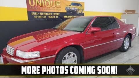 2001 Cadillac Eldorado for sale at UNIQUE SPECIALTY & CLASSICS in Mankato MN