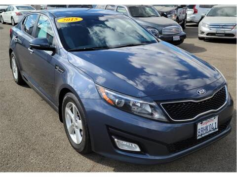 2015 Kia Optima for sale at ATWATER AUTO WORLD in Atwater CA