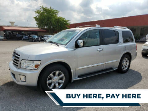 2007 Infiniti QX56 for sale at Best Auto Deal N Drive in Hollywood FL