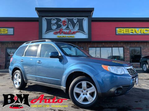 2009 Subaru Forester for sale at B & M Auto Sales Inc. in Oak Forest IL