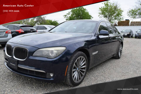 2011 BMW 7 Series for sale at American Auto Center in Austin TX
