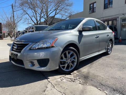 2013 Nissan Sentra for sale at Cypress Motors of Ridgewood in Ridgewood NY