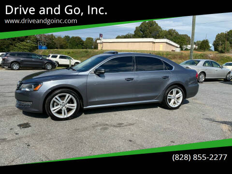 2014 Volkswagen Passat for sale at Drive and Go, Inc. in Hickory NC