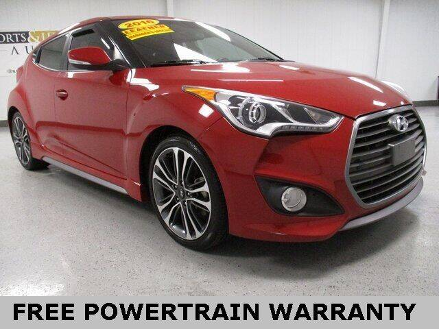 2016 Hyundai Veloster for sale at Sports & Luxury Auto in Blue Springs MO