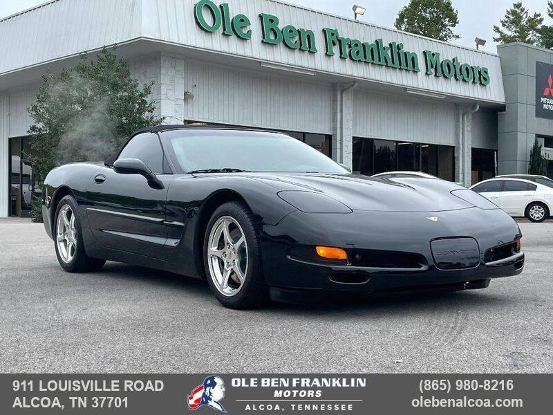 2000 Chevrolet Corvette for sale at Ole Ben Franklin Motors-Mitsubishi of Alcoa in Alcoa TN