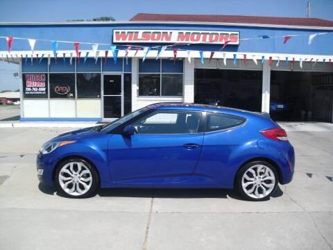 2012 Hyundai Veloster for sale at Wilson Motors in Junction City KS