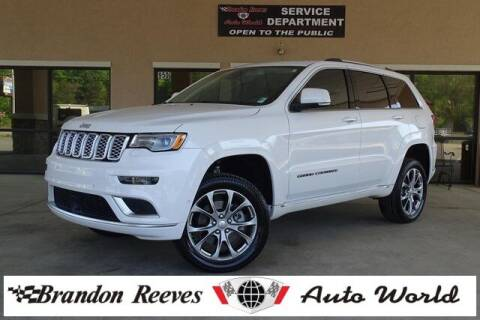 2019 Jeep Grand Cherokee for sale at Brandon Reeves Auto World in Monroe NC