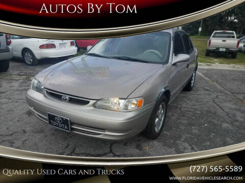 1998 Toyota Corolla for sale at Autos by Tom in Largo FL