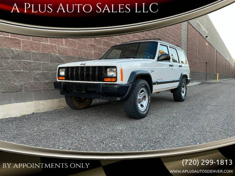 1998 Jeep Cherokee for sale at A Plus Auto Sales LLC in Denver CO