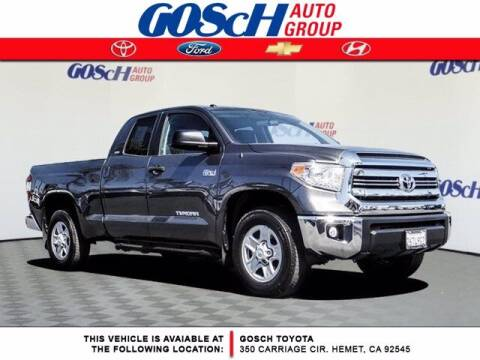 2017 Toyota Tundra for sale at BILLY D SELLS CARS! in Temecula CA