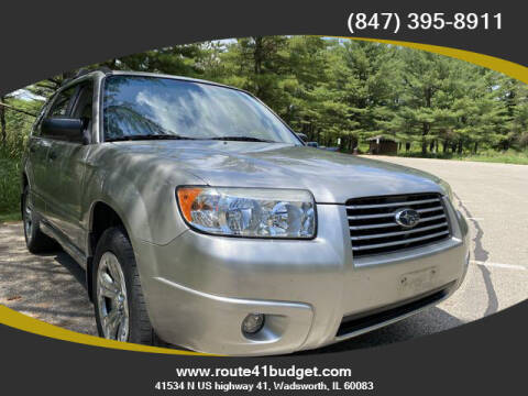 2007 Subaru Forester for sale at Route 41 Budget Auto in Wadsworth IL