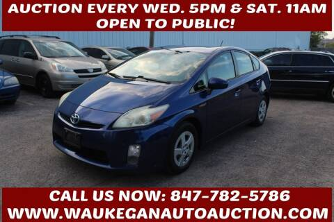 2011 Toyota Prius for sale at Waukegan Auto Auction in Waukegan IL