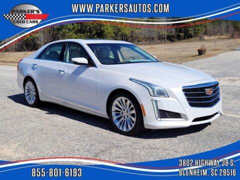 2015 Cadillac CTS for sale at Parker's Used Cars in Blenheim SC