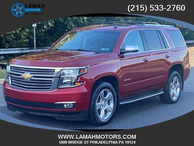 2015 Chevrolet Tahoe for sale at LAMAH MOTORS INC in Philadelphia PA