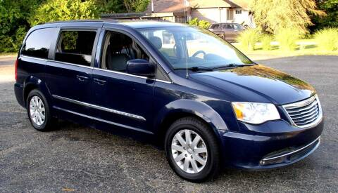 2015 Chrysler Town and Country for sale at Angelo's Auto Sales in Lowellville OH