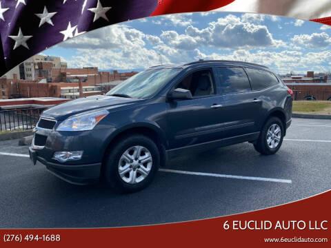 2011 Chevrolet Traverse for sale at 6 Euclid Auto LLC in Bristol VA