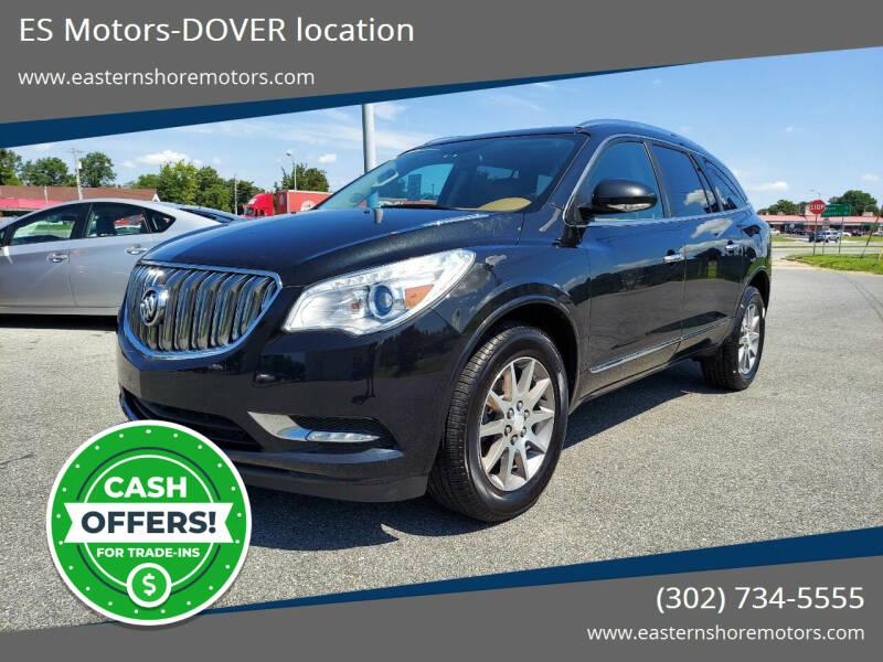 2014 Buick Enclave for sale at ES Motors-DAGSBORO location - Dover in Dover DE