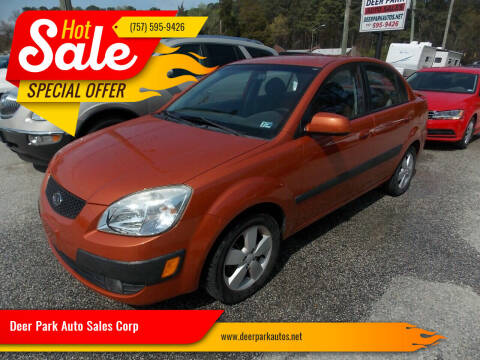 2007 Kia Rio for sale at Deer Park Auto Sales Corp in Newport News VA