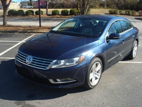 2013 Volkswagen CC for sale at Uniworld Auto Sales LLC. in Greensboro NC