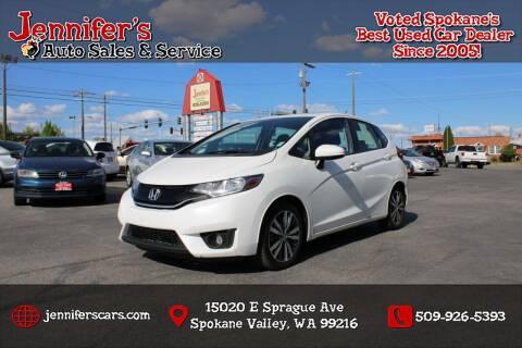 2016 Honda Fit for sale at Jennifer's Auto Sales in Spokane Valley WA