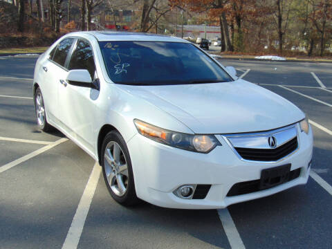 2012 Acura TSX for sale at Lakewood Auto in Waterbury CT