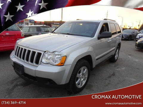 2009 Jeep Grand Cherokee for sale at Cromax Automotive in Ann Arbor MI