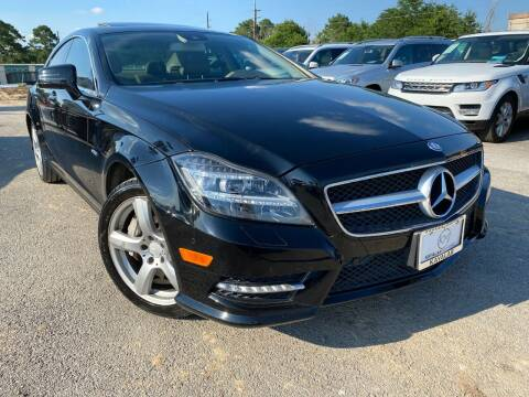2012 Mercedes-Benz CLS for sale at KAYALAR MOTORS in Houston TX
