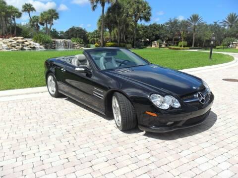 2004 Mercedes-Benz SL-Class for sale at AUTO HOUSE FLORIDA in Pompano Beach FL