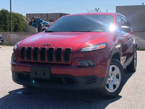 2015 Jeep Cherokee for sale at MAGIC AUTO SALES - Magic Auto Prestige in South Hackensack NJ