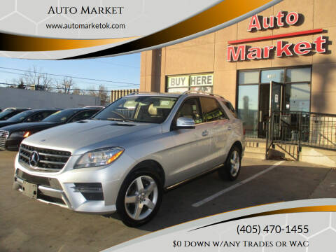 2014 Mercedes-Benz M-Class for sale at Auto Market in Oklahoma City OK