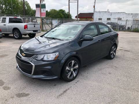 2020 Chevrolet Sonic for sale at Saipan Auto Sales in Houston TX