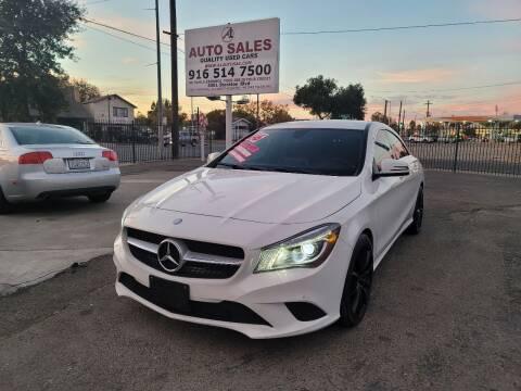 2016 Mercedes-Benz CLA for sale at A1 Auto Sales in Sacramento CA