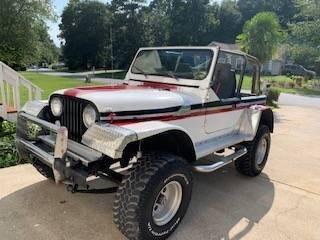 1975 Jeep CJ-7 for sale at Classic Car Deals in Cadillac MI