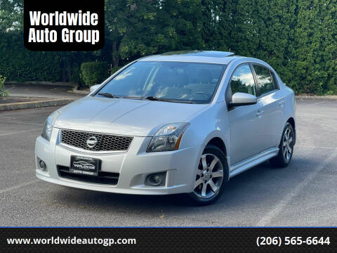 2011 Nissan Sentra for sale at Worldwide Auto Group in Auburn WA