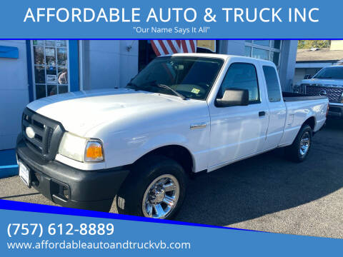 2006 Ford Ranger for sale at AFFORDABLE AUTO & TRUCK INC in Virginia Beach VA