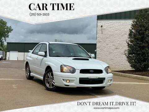 2005 Subaru Impreza for sale at Car Time in Philadelphia PA
