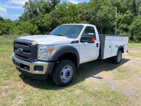2016 Ford F-450 for sale at Scruggs Motor Company LLC in Palatka FL