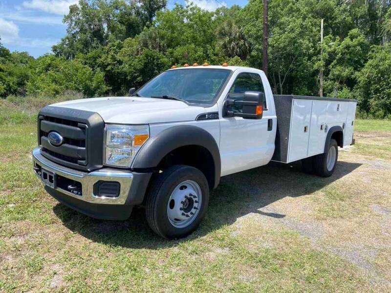 2016 Ford F-450 for sale at Scruggs Motor Company LLC in Palatka FL