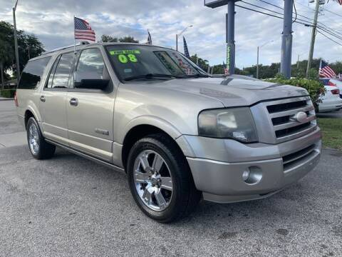 2008 Ford Expedition EL for sale at AUTO PROVIDER in Fort Lauderdale FL