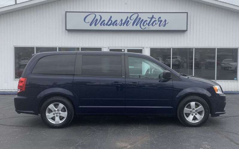 2013 Dodge Grand Caravan for sale at Wabash Motors in Terre Haute IN