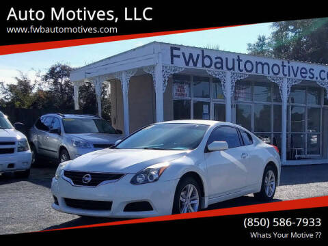 2013 Nissan Altima for sale at Auto Motives, LLC in Fort Walton Beach FL