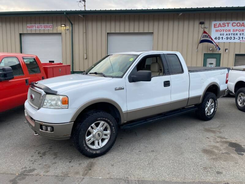 2004 Ford F-150 for sale at East Coast Motor Sports in West Warwick RI