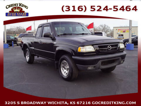 2002 Mazda Truck for sale at Credit King Auto Sales in Wichita KS