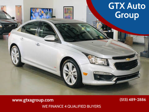 2015 Chevrolet Cruze for sale at GTX Auto Group in West Chester OH